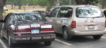 Bumper sticker mania in Ruckmanland   Ruckmanism org